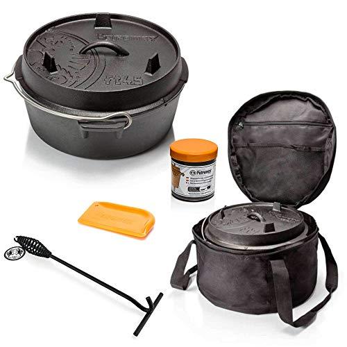 Petromax ft4.5 Set de démarrage avec Sac et raclette à Couvercle
