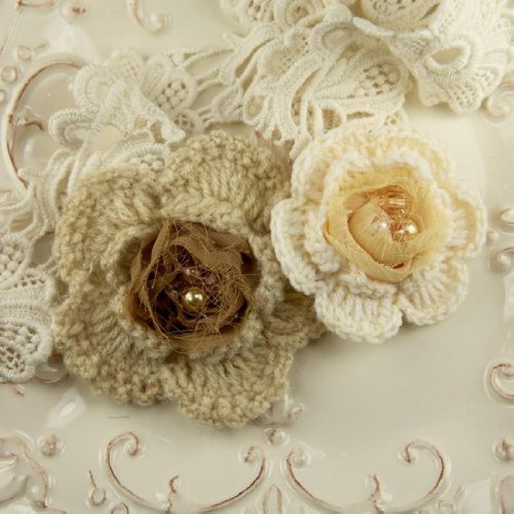 Prima Marketing 655350546601 Knitty Colonel Cashew Scrapbooking Embellishments
