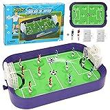 CCSU Mini Juego De Fútbol De Mesa De Escritorio, Juegos De Pinball De Fútbol De Defensa Interactivos, Tablero De Fútbol De Mesa Recreativo Portátil para Adultos Y Niños