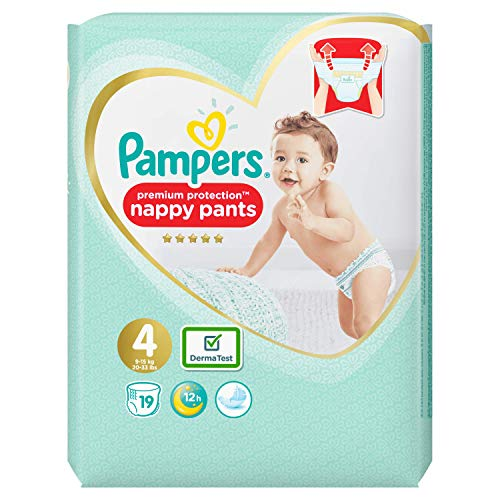 Pampers Premium Protection Pants, Größe 4, 19 Windeln