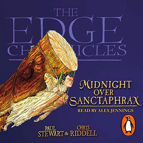 Midnight over Sanctaphrax     The Edge Chronicles, Book 6              By:                                                                                                                                 Paul Stewart,                                                                                        Chris Riddell                               Narrated by:                                                                                                                                 Alex Jennings                      Length: 3 hrs and 28 mins     Not rated yet     Overall 0.0