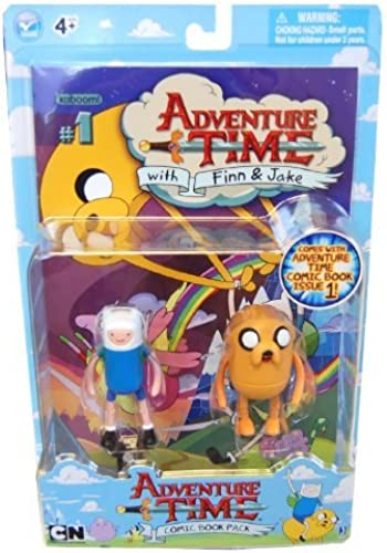 comprar marca Adventure Time 3 3 3 Comic Book Pack - Finn & Jake by Jazwares  moda