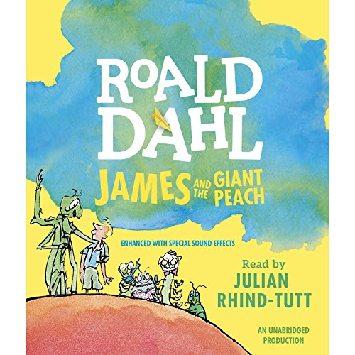 James and the Giant Peach cover art