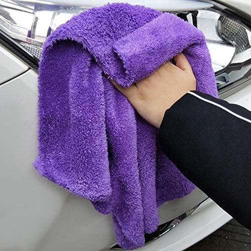 Super absorbente cuidado del coche lavado paño de limpieza toalla de microfibra ultra suave coche pulido felpa lavado secado toalla