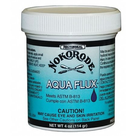 New Soldering Flux, Water Soluble, 4 oz.- Pack of 10