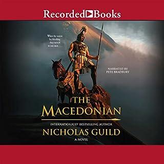 The Macedonian audiobook cover art