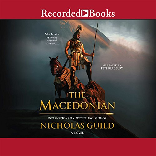 The Macedonian audiobook cover art