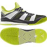 adidas Stabil X W, Chaussures de Handball Femme, Noir (Neguti/Ftwbla/Amahie 000), 37 1/3 EU