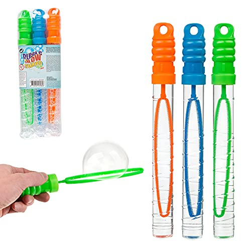 Smart Planet Espada de burbujas XXL para grandes burbujas de jabón, juego de 3 para niños, perfecta para verano y cumpleaños