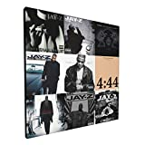 LisaJYancey Jay-Z Canvas Wall Art Poster Hd Print Canvas Painting Living Room Home Decor Wall Hanging Painting 12x12 Inch
