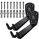 2 x BIKEHAND Bike Bicycle Cycling Pedal Wall Mount Indoor Storage Hanger Stand - Hook Rack Holder - Great for Garage and Shed
