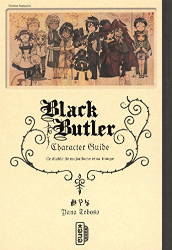 Black Butler character guide, tome 0