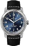 Breitling Navitimer 8 Automatic 41 Reloj para Hombre con Esfera Azul y Correa de Piel Negra (Ref. A17314101C1X2)