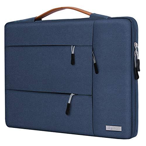 Egiant Laptoptasche für HP Chromebook 14, Acer Spin 3, Aspire 1, Dell Inspiron 14, Latitude 14, Asus VivoBook Zenbook, wasserabweisend, Blau