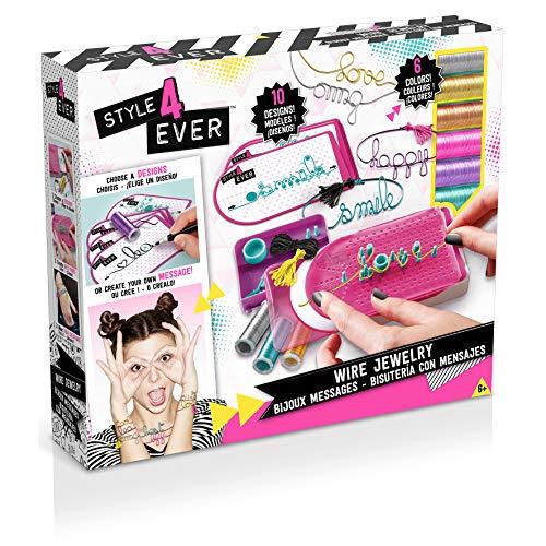 Canal Toys–ct28597–Bijou y cosmética–Only for Girls–Bijoux Mensajes