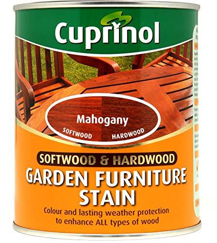 CUPRNOL 5158523 Garden Furniture Stain Exterior Woodcare, Mahogany