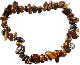 Hellery Oeil De Tigre Perles De Pierres Pr/écieuses Tigereye Chips Gem Strand Strand 34pour Les Bijoux De Bricolage