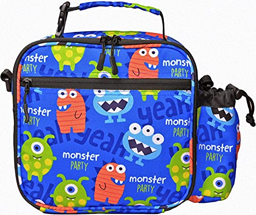 7-Mi Kids Lunch Bags for Boys Insulated Thermal Reusable Children's...
