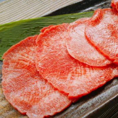 宮城の名産牛タンを使った牛たん入りつくね串 10串1袋と牛タン2.5mmスライス(オーストラリア産)500gx1の牛タン三昧セット