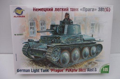 ALANGER Prague PzKpfw 38(t) 1:35