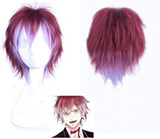 Diabolik Lovers Cosplay Wig, Anime Sakamaki Ayato Hair Wigs Cosplay Costume Wig