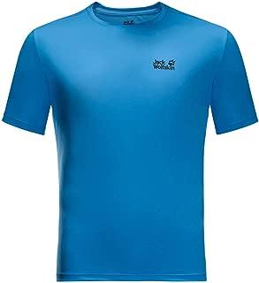 Jack Wolfskin Mens Tech T-Shirt - Brilliant Blue - XXXL