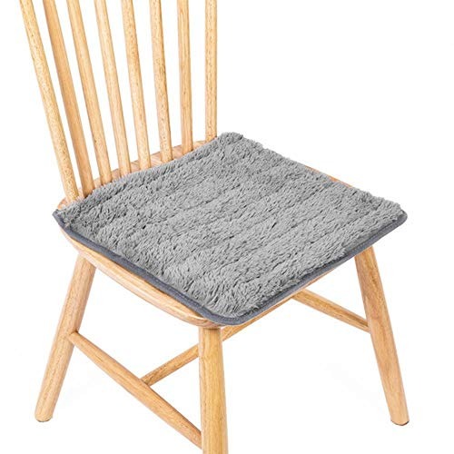 JUIC 4Pcs 40cmX40cm Chair Seat Cushion Dining Garden Patio Home Kitchen Office Pads Cushion Cushion for Chair Room Decor,6,40x40cm