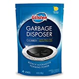 Glisten Disposer Care Foaming Drain/Pipe Cleaner, 4 Uses, White, Blue, 19 Ounce