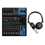 Yamaha MG10XU 10-Input Stereo Mixer with Open-Ear Headphones