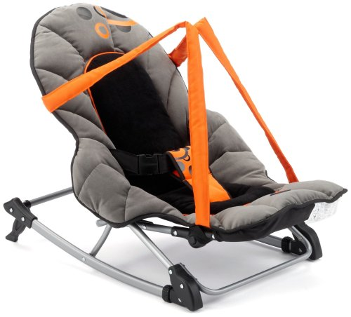 Babymoov A012102 - Kompakter Wipper-Sitz Einfach schwarz-orange