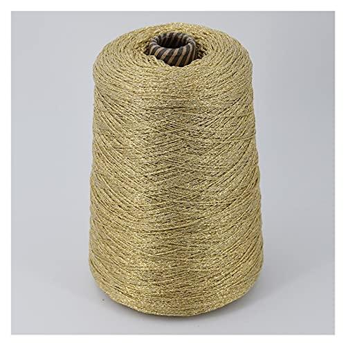 Aolongjs Hilo de Ganchillo Crocheting Handsting Hiland Crochet Bricolaje Hilos de Oro de Plata de...