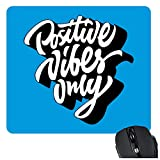 """Gift Set Contents: 1 Mouse Pad. Details of Mouse pads - Shape: Square, Dimension: 9"""" x 7.5"""""""" (Inches), Thickness - 3 mm, Application: Mousepad for PC, Desktop, Laptop. Works With Any Standard Mouse. Material: High-density black foam, stain-resistant ..."""