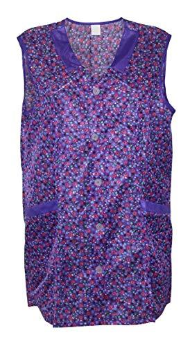 7/8 Kasack 85 cm Kittel kurz Schürze Dederon Polyester, Größe:32, Modell:Modell 1