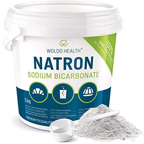 Natron Pulver 5 kg in Lebensmittelqualität - im Eimer mit Tüte verschlossen