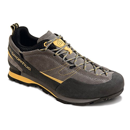 La Sportiva Boulder X Hiking Shoe - Men's, Grey/Yellow, 45.5