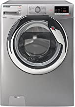 HOOVER DXOC17C3R-EGY Front Load Fully Automatic Washing Machine, 7 Kg - Silver