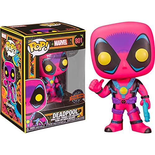 Funko Pop Marvel Deadpool Blacklight Figure