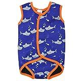 Splash About Baby Wrap Wetsuit Traje de Neopreno, Infantil, Naranja (Tiburones),...