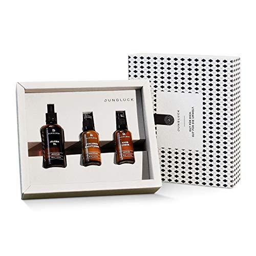 Junglück Winterglück Set | Hautpflege Geschenkset für Frauen | In einer schönen Geschenkverpackung | 100% vegan und nachhaltig | Hautpflege Made in Germany