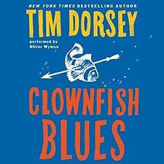 Clownfish Blues audiobook cover art