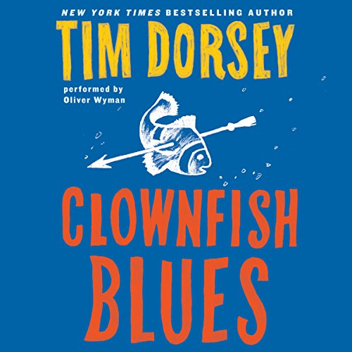 Clownfish Blues audiobook cover art