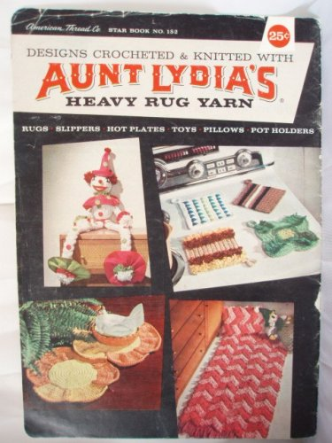 Check Out This Aunt Lydia's Heavy Rug Yarn (Star Book No 152)