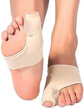 1Pair Silicone Hallux Valgus Corrector Toe Straightener Separator Protector Splint,S(EUR30~39)