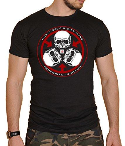 30 Seconds to Mars Herren T-Shirt Schwarz schwarz Gr. L, schwarz