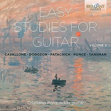 Easy Studies for Guitar, Vol. 2
