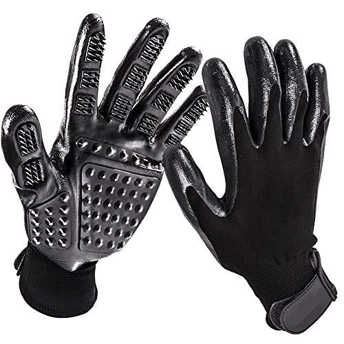 warmshop888 Pet Cleaning Tools Hair Massage GlovesAnimal Bath Utensils Grooming Glove Horse Brushes Pets Supplies