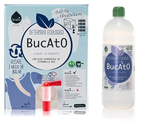 Biolù Detersivo BUCATO ECO BIO 1 Lt con Flacone