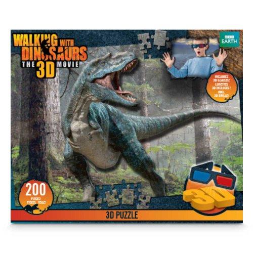 Giochi preziosi gpz50712 Walking with Dinosaurs - Puzzle 300 pz 3D con Occhiali