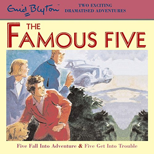 Five Fall into Adventure & Five Get into Trouble Titelbild