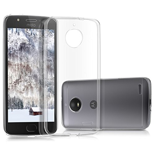 kwmobile Motorola Moto E4 Hülle - Handyhülle für Motorola Moto E4 - Handy Case in Transparent